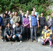 Trekkers group picture